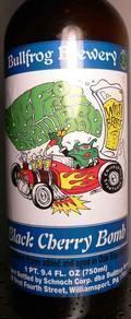 Bullfrog Black Cherry Bomb - Sour/Wild Ale