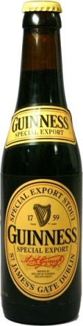 Guinness Special Export (Belgian version)