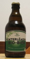 Hinterl�nder Bio-Bier