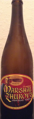 Cigar City Marshal Zhukov�s Imperial Stout