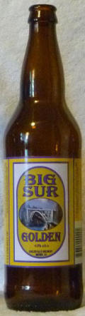 English Ales Big Sur Jubilee Golden Ale