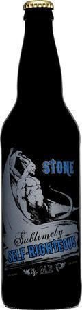 Stone Sublimely Self Righteous Black IPA
