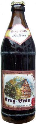 Krug-Br�u Dunkles Festbier (Weihnachtsbier)