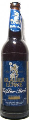 Blauer L�we Wei�bier-Bock