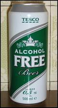 Tesco Alcohol Free Beer