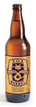 Fox Barrel Mulled Cider
