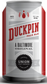Union craft duckpin pale ale for Union craft brewing baltimore md