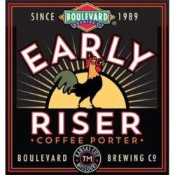 Boulevard Early Riser Coffee Porter (MO)-5.0% ABV 28 IBU