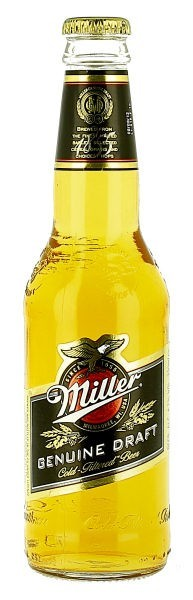 Miller Genuine Draft MGD