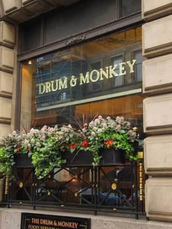 Drum & Monkey (Nicholson�s)