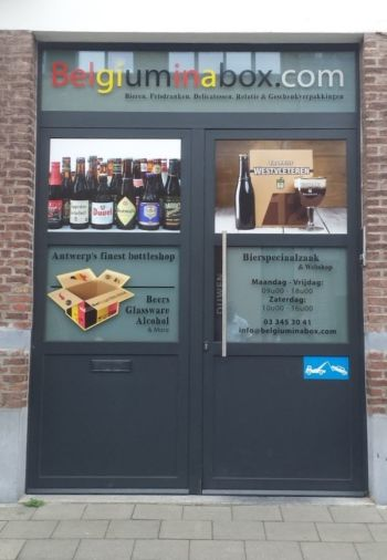 Belgiuminabox.com Webshop, Open Warehouse and Bottle Shop