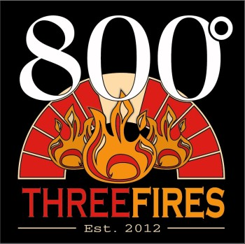 800 Degrees Three Fires