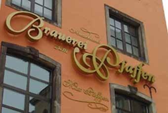 Ausschank Pfaffen Brauerei Max P�ffgen