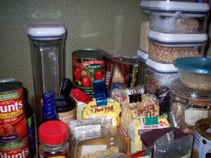 Part of our pantry
