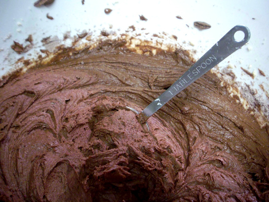 Double Chocolate Cookie Batter