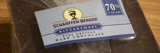 Scharffen Berger Bittersweet Chocolate