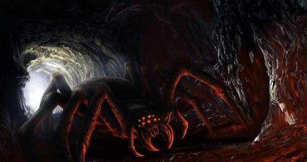 [Pathfinder (BR)] Fires over Brinestump  - Page 3 Giant_spider