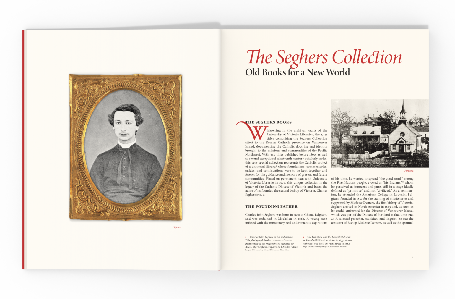 The Seghers Collection, sample spread