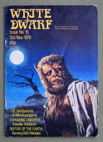 White Dwarf Magazine, Issue 15 - READING COPY