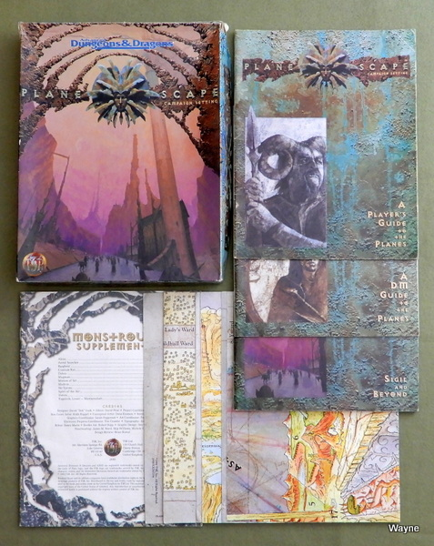 Planescape Campaign Setting (Advanced Dungeons & Dragons) - PLAY SET