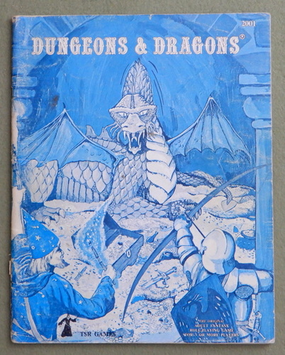 Dungeons & Dragons (Classic Blue Book) - COLORING, Gary Gygax & Dave Arneson & Eric Holmes