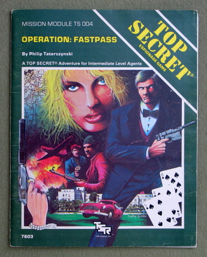 Image for Operation FASTPASS (Top Secret Module TS004) - PLAY COPY