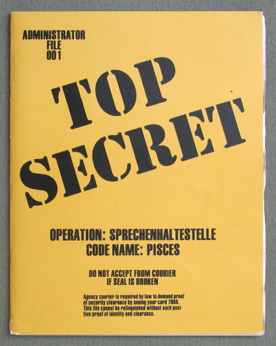 Operation Sprechenhaltestelle (Top Secret Administrator File 001), Merle Rasmussen