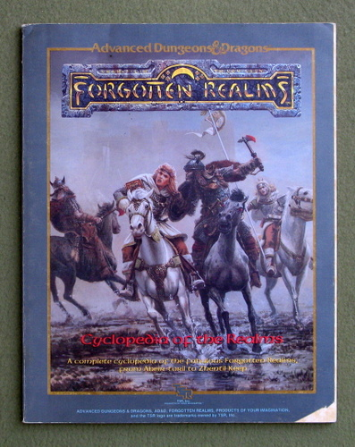 Cyclopedia of the Realms (Advanced Dungeons & Dragons: Forgotten Realms) - PLAY COPY, Ed Greenwood & Jeff Grubb