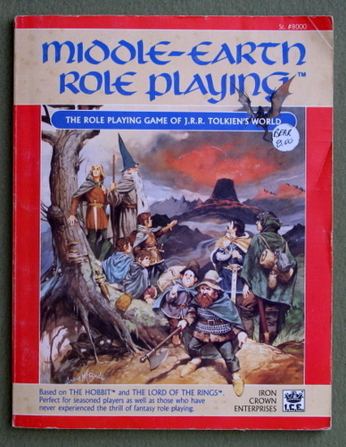 Middle Earth Role Playing, 1st Edition Revised (MERP) - PLAY COPY