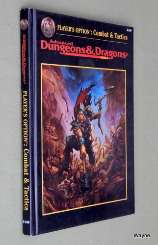 Player's Option: Combat & Tactics (Advanced Dungeons & Dragons, 2nd Edition)