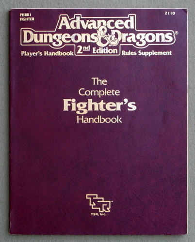 Complete Fighter's Handbook (Advanced Dungeons & Dragons, 2nd Edition), Aaron Allston