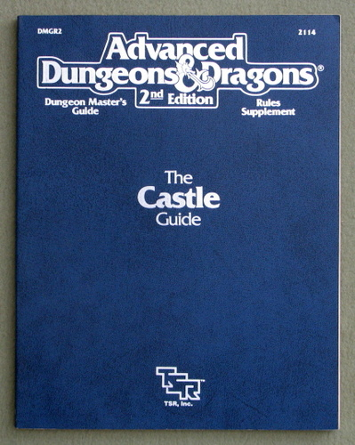 Castle Guide (Advanced Dungeons and Dragons Rules Supplement DMGR2)