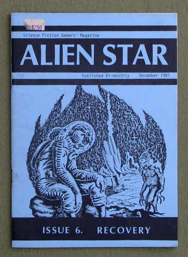 Alien Star, Issue 6 (Recovery): Science Fiction Gamers' Magazine (Traveller), D.W. Hockham