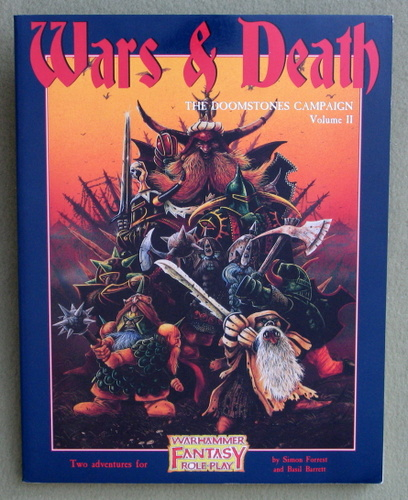 Wars and Death: Doomstones Campaign, Volume 2 (WFRP/Warhammer Fantasy Roleplay)