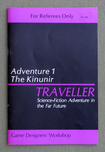 Traveller Adventure 1: Kinunir, Marc Miller