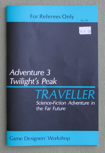 Traveller Adventure 3: Twilight's Peak, Marc Miller