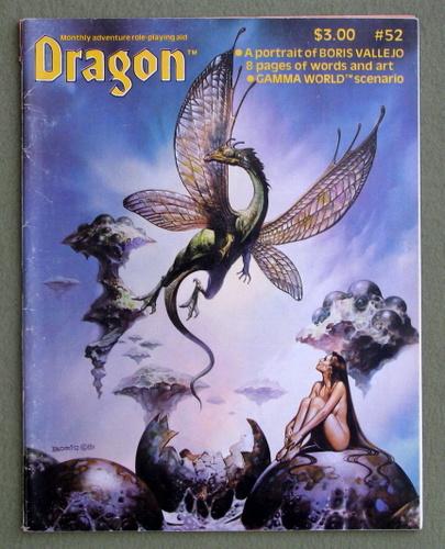 Dragon Magazine, Issue 52