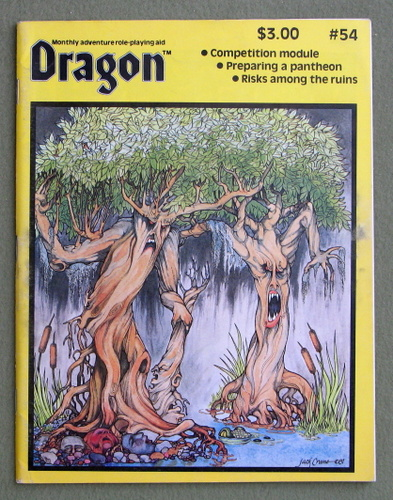 Dragon Magazine, Issue 54