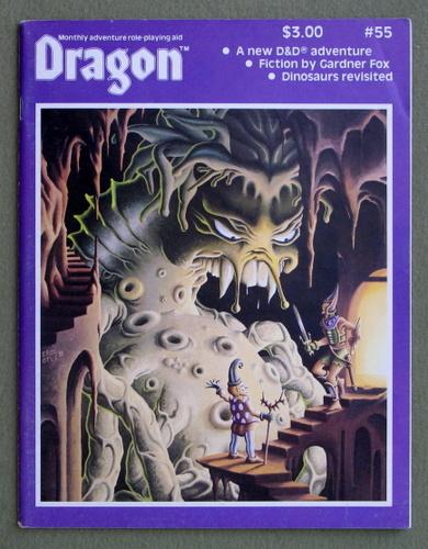 Dragon Magazine, Issue 55