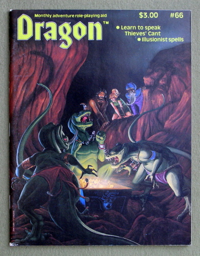 Dragon Magazine, Issue 66