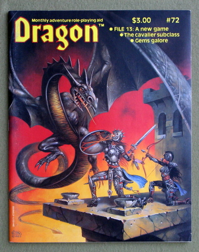 Dragon Magazine, Issue 72