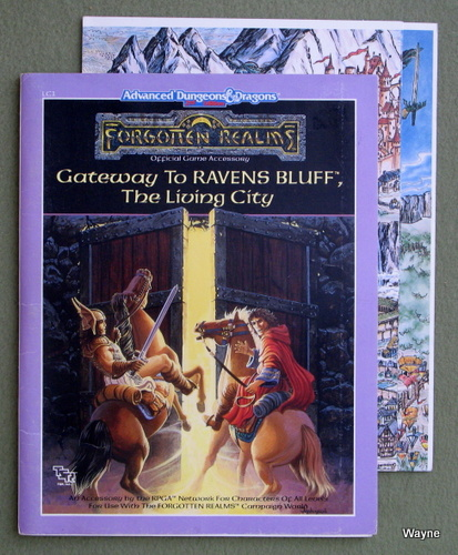 Gateway to Ravens Bluff (Advanced Dungeons & Dragons: Forgotten Realms Module LC1) - PLAY COPY, Jean Rabe