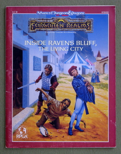 Inside Ravens Bluff, The Living City (Advanced Dungeons & Dragons: Forgotten Realms Accessory LC2) - PLAY COPY