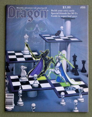 Dragon Magazine, Issue 86