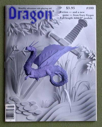 Dragon Magazine, Issue 100