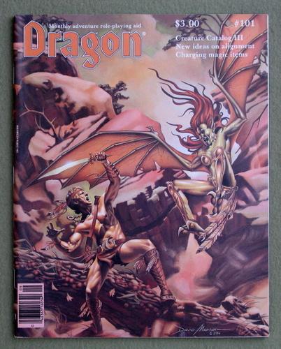 Dragon Magazine, Issue 101