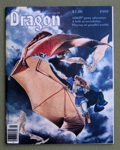 Dragon Magazine, Issue 105