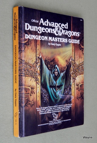Dungeon Masters Guide (Advanced Dungeons & Dragons: 1st Edition, Revised), Gary Gygax