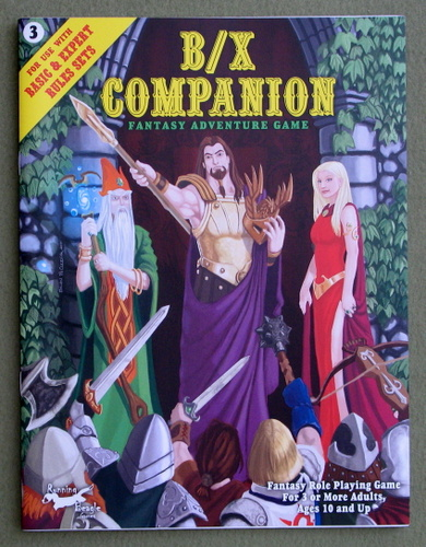 B/X Companion: Fantasy Adventure Game, Jonathan Becker