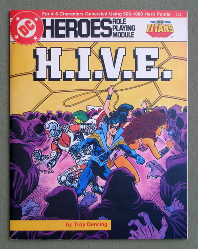 H.I.V.E. (DC Heroes role playing game), Troy Denning
